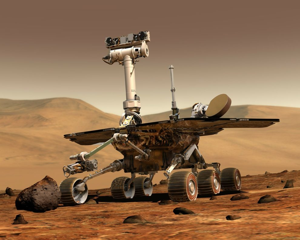 NASA Perseverance rover landing Mars video