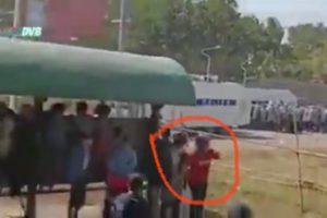 Girl shot dead Myanmar police