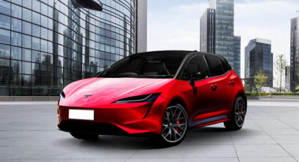 Tesla Model 2 concept
