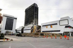 trump atlantic plaza casino demolition implosion