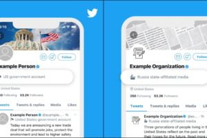 Twitter labels world leaders government accounts