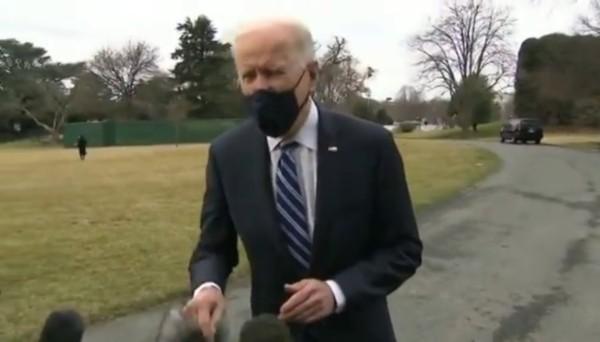 Biden green screen video