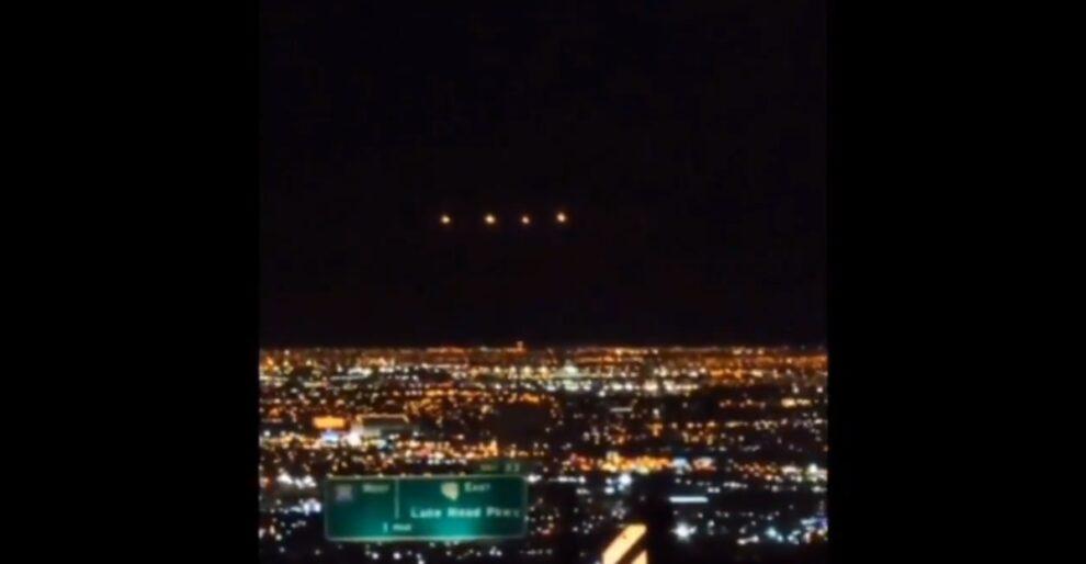 UFO Las Vegas Mysterious lights