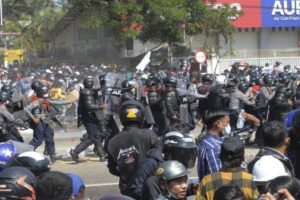 Myanmar military terrorist