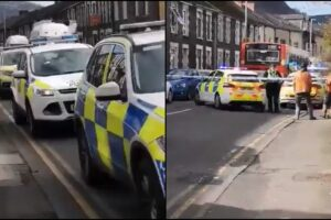 stabbing attack Wales Ynyswen Treorchy Chinese takeaway