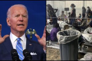 Biden admin video Migrant detention facilities Texas