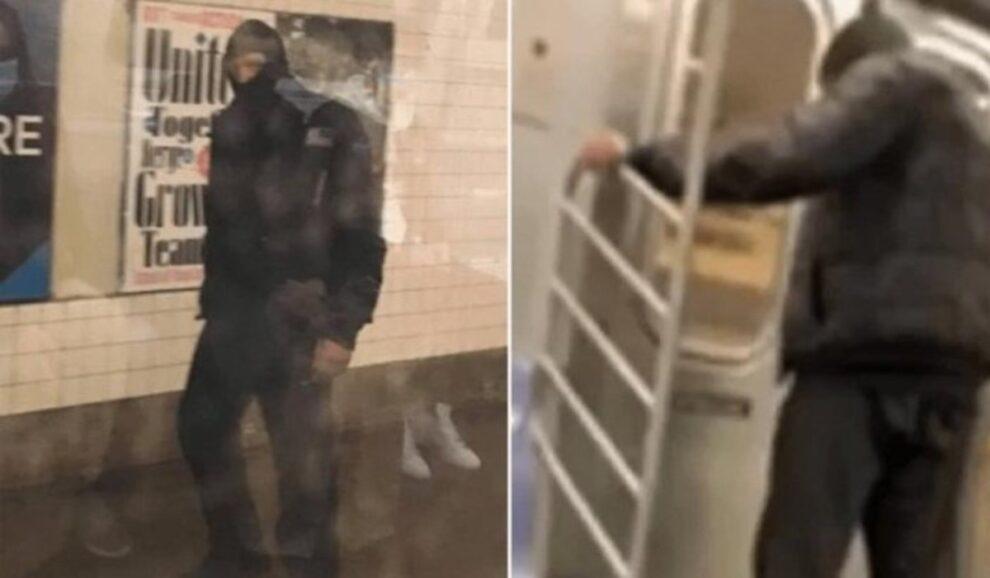 Man urinates on Asian woman New York subway car