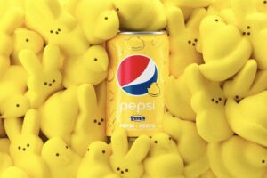 PEEPSI Pepsi and Peeps Marshmallow Soda
