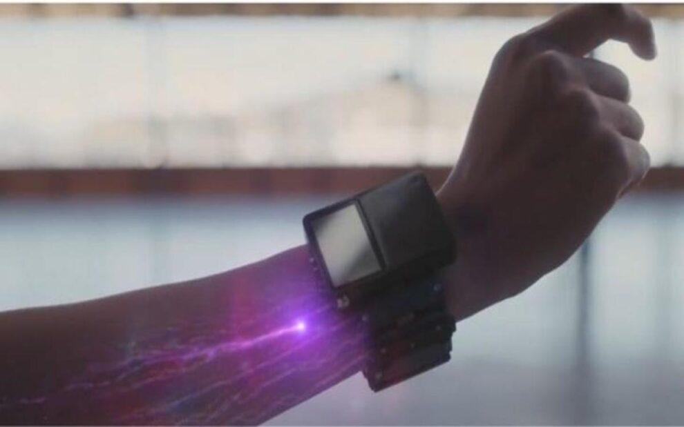 Facebook bracelet control computer brain