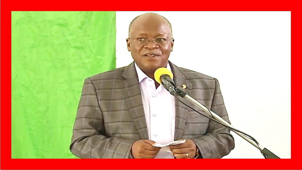 Tanzania president sick COVID-19 Magufuli missing