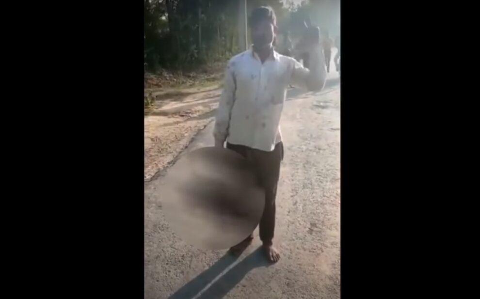 father cuts daughter head Pandetara India