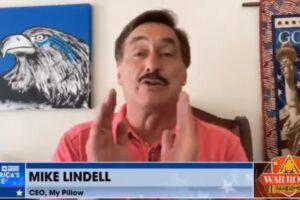 lindell trump back august War Room podcast