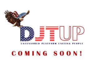 DJTUP Trump website 45office.com
