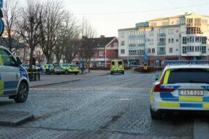 eight stabbing Vetlanda Sweden