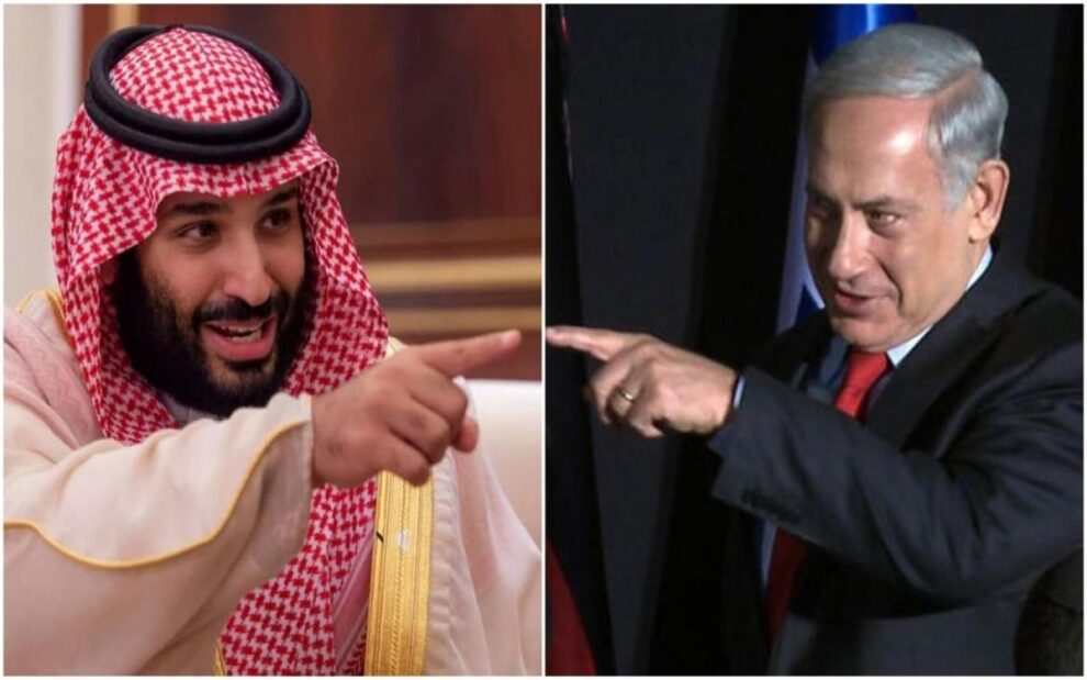 Netanyahu meet Saudi Crown Prince UAE visit