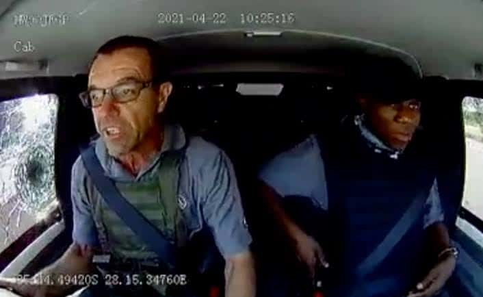 land cruiser van drivers south africa robbery