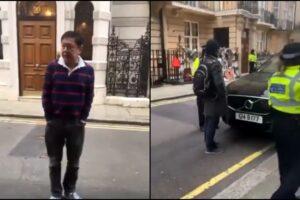 Myanmar ambassador locked out london Kyaw Zwar Minn