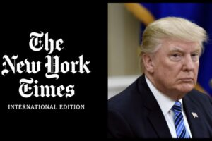 trump statement new york times story