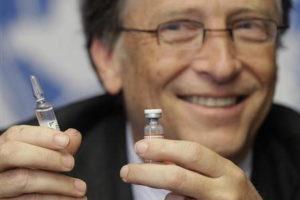 Bill Gates Vaccine Poor