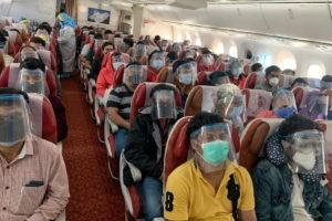 52 passengers COVID test positive
