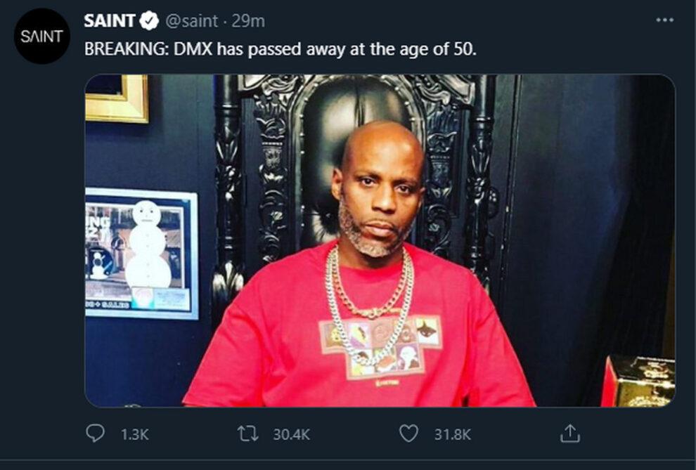DMX dead rumors death