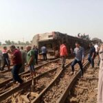 Egypt train derailed