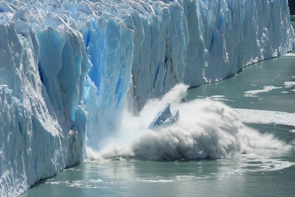 Glaciers metling global warming