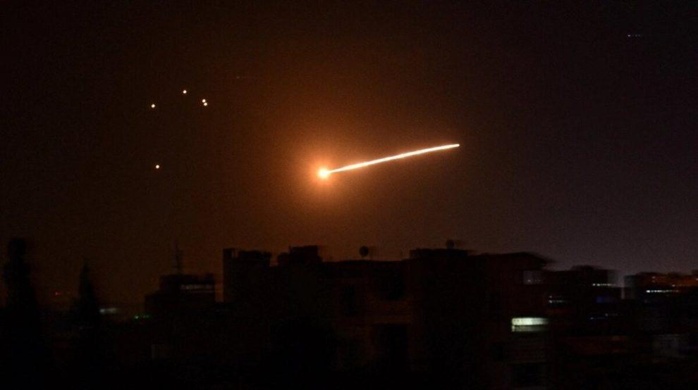 israel missile attack syria