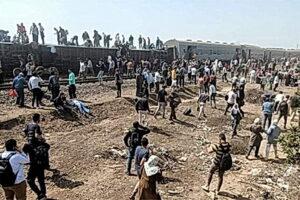 train derail egypt ealyubia