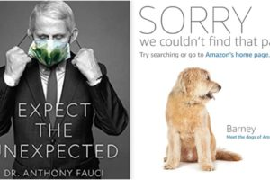 Anthony Fauci book removed from amazon Barnes & Noble