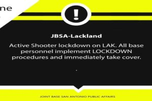 Active shooter joint base antonio