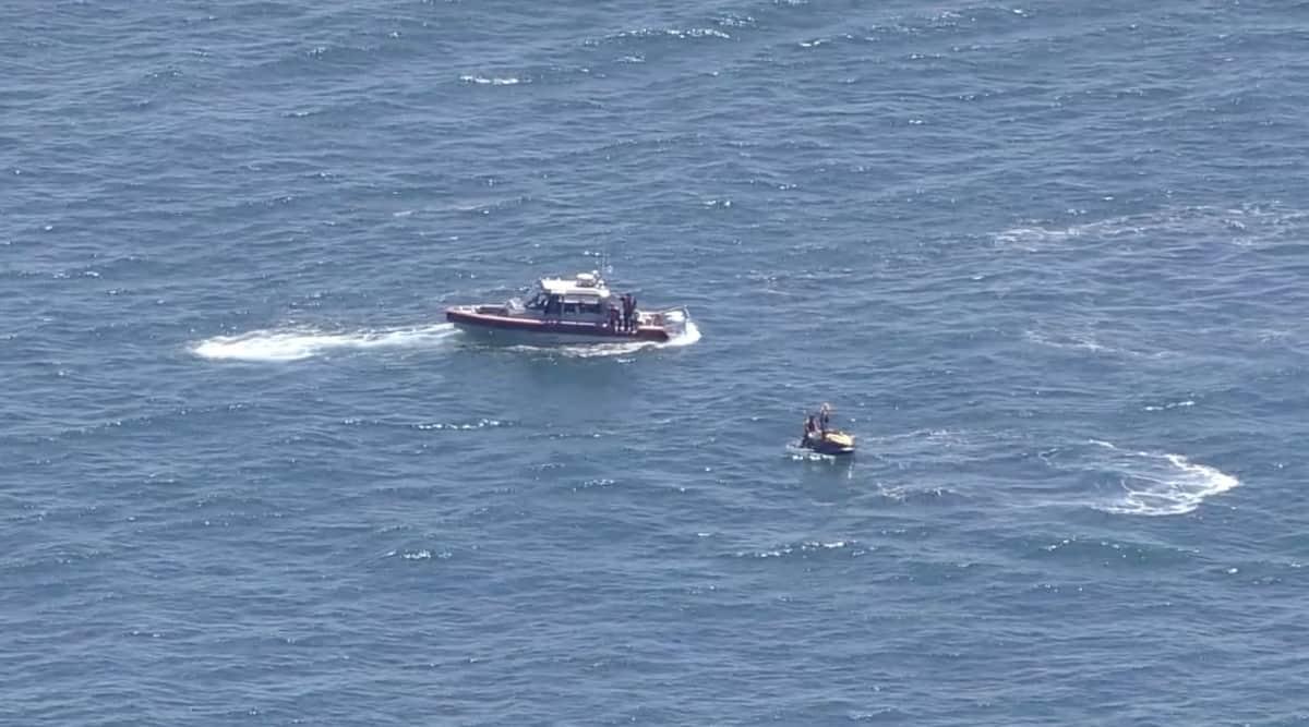 Plane crash Long Beach Island