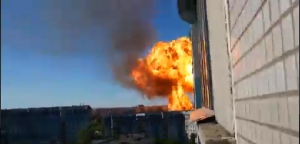 gas explosion Novosibirsk