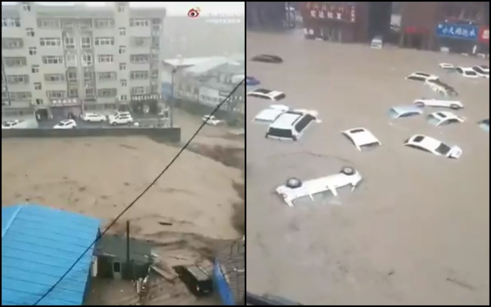 henan china flooding rain