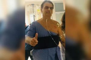 Bolsonaro hospitalized Brazil