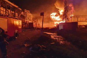 explosion factory bangkok