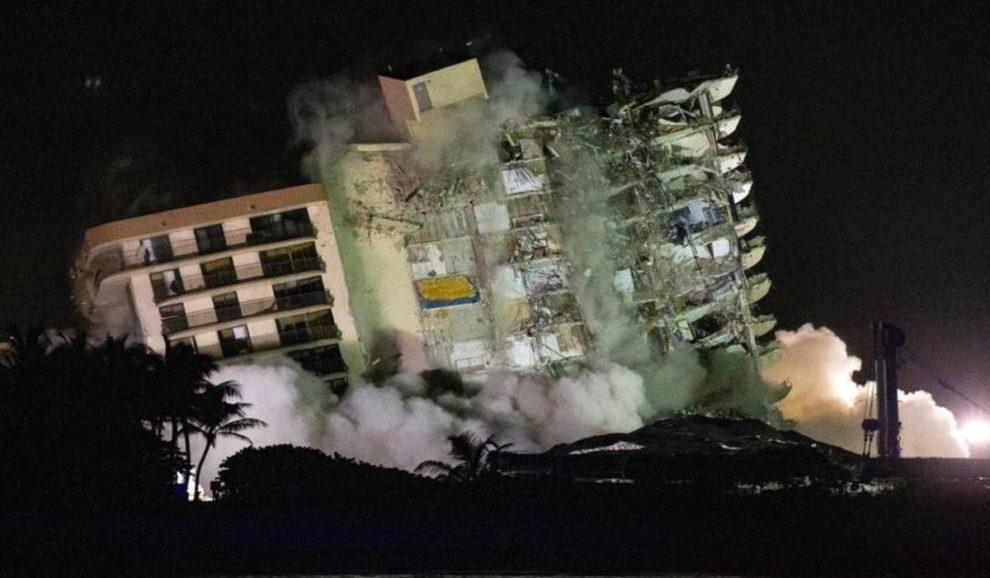 surfside building demolition