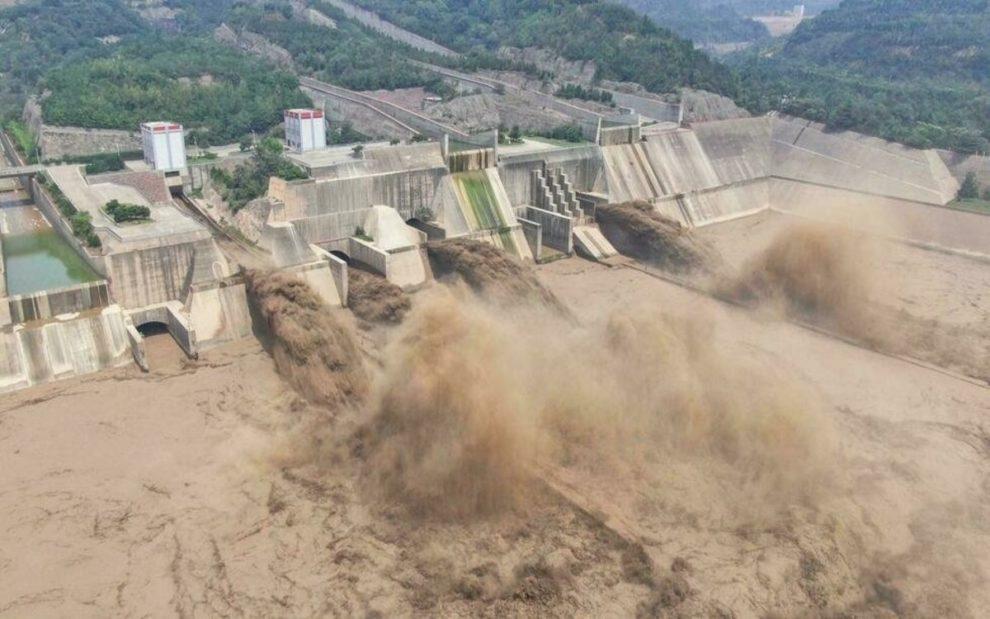 chinese army Yihetan dam