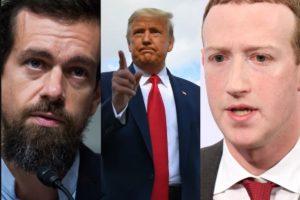 Trump sue facebook twitter