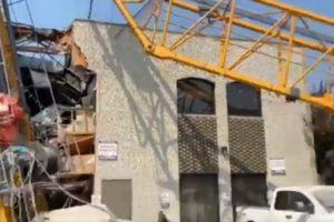 Crane collapse kelowna