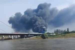 Leverkusen explosion videos
