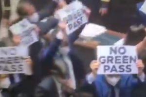 Italian parliament Green Pass