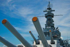 china drove away US warship