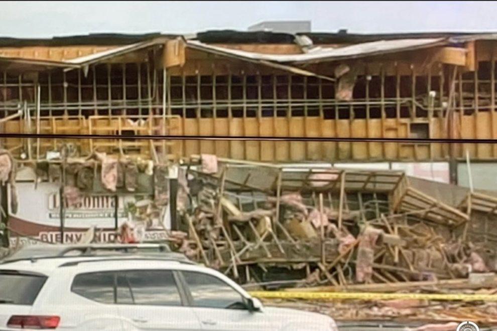 building collapse Desert Inn