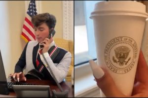 Benito skinner Gen-Z intern White House hired influencer promote vaccines