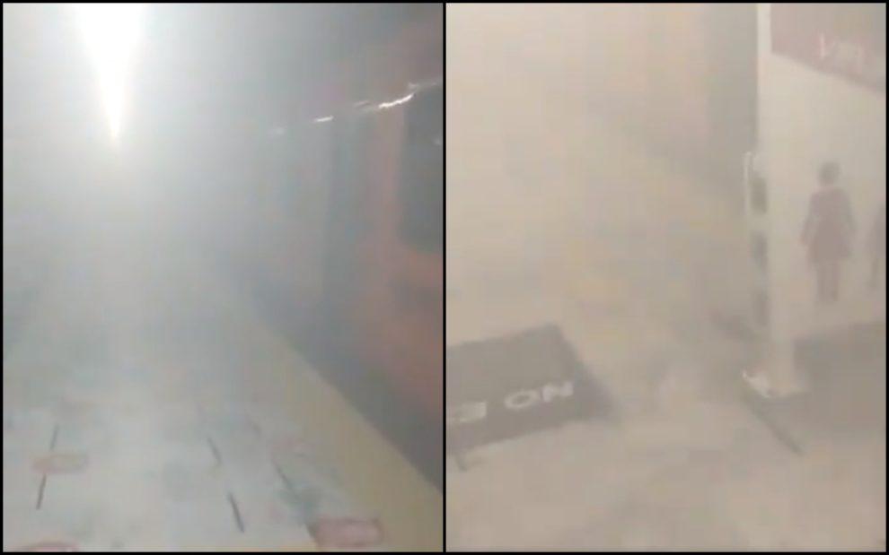 explosion Pino Suarez metro station