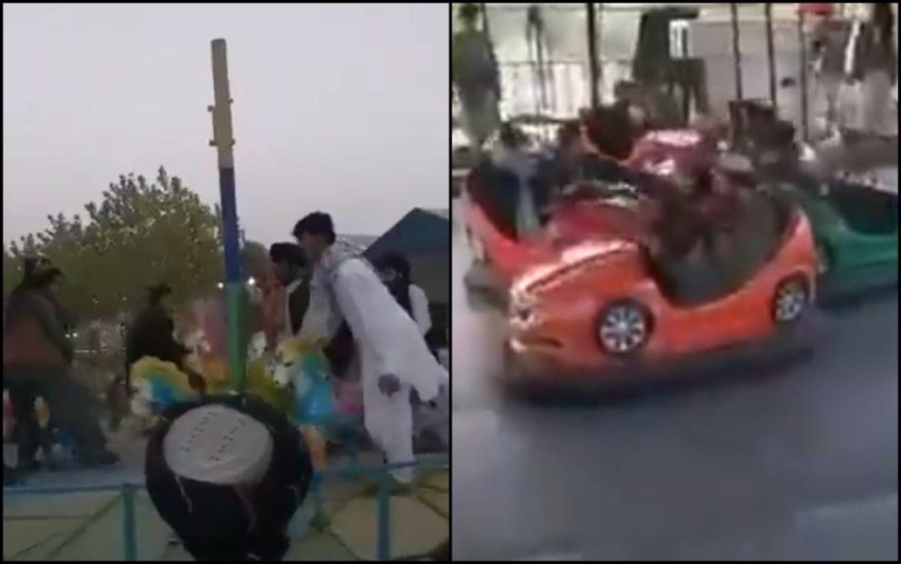 taliban amusement park kabul video
