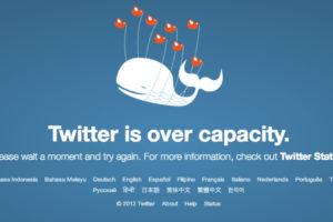 twitter over capacity error