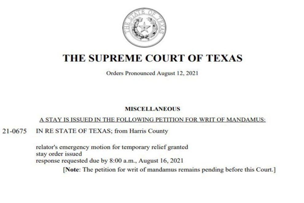 Texas Supreme Court Democrats arrest warrants