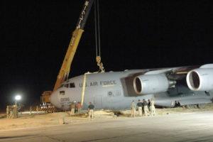Kabul airport c-17 shooting